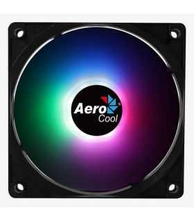 Ventilator Aerocool Frost12 120x120x25mm iluminare RGB 8 LED-uri rulmenti Sleeve Bearing 1000 RPM