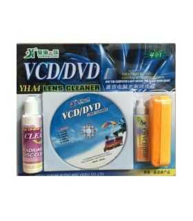 Set curatare DVD si CD cu solutie de curatat
