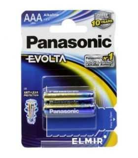 Panasonic baterii alcaline AAA (LR3) Evolta 2buc LR03EGE/2BP