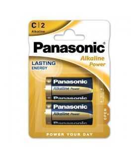 Panasonic baterii alcaline C (LR14) Alkaline Power Bronze 2buc LR14APB/2BP