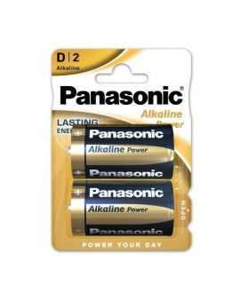 Panasonic baterii alcaline D (LR20) Alkaline Power Bronze 2buc LR20APB/2BP