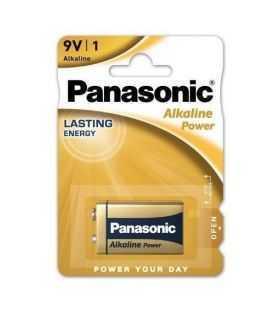 Panasonic baterie alcalina 9V 6LR61 Alkaline Power Bronze 6LR61APB/1BP