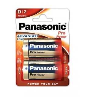 Panasonic baterii alcaline D (LR20) Pro Power 2buc LR20PPG/2BP
