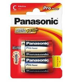Panasonic baterii alcaline C (LR14) Pro Power 2buc LR14PPG/2BP