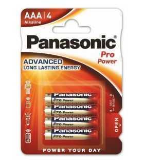 Panasonic baterii alcaline AAA (LR3) Pro Power 4buc LR03PPG/4BP