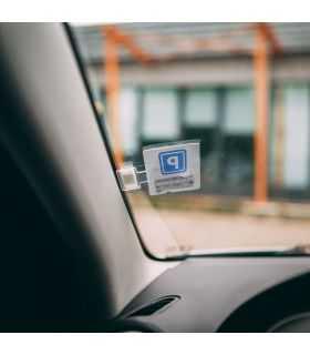 Suport de tichete de parcare autoadeziv M`N`C
