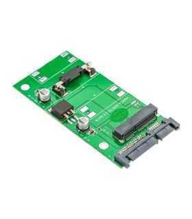 Adaptor mSATA - SATA verde Orico S22PTMS