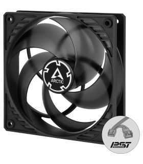 Ventilator ARCTIC AC P12 PWM PST black/transparent 120x120x25 mm 200-1800RPM 4Pin ACFAN00134A