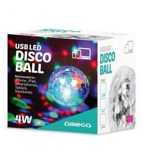 DISCO BALL USB LED 4W OMEGA