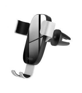 Suport telefon Argintiu auto grila ventilatie XO C37