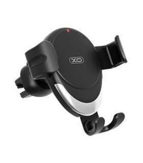 Suport telefon Negru Wireless pentru grila ventilatie auto XO WX021