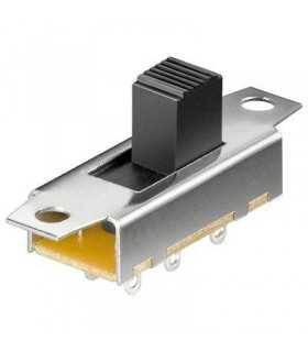 Comutator glisant 2x UM 6 pin 24.2X10.8mm Goobay