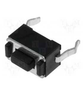 Microcontact 2 pini OFF-ON fara retinere 3.5x6mm buton 1.5mm