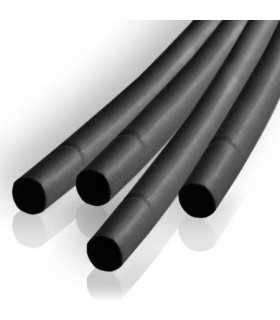 Tub termocontractabil 2.5mm/ 1.25mm negru 0.5m