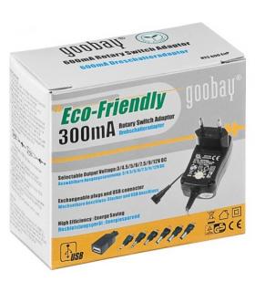 Alimentator 3-12V 300mA 9 mufe Goobay
