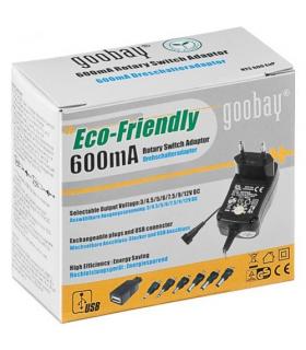 Alimentator 3-12V 600mA 9 mufe Goobay