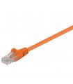 Cablu UTP 20m portocaliu patchcord CAT5e 2x RJ45 CCA neecranat Goobay