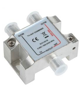 Dispozitiv pentru combinat semnal antena tv/satelit