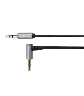 Prelungitor Jack 3.5mm la 3.5 90 grade 1m Profesional Kruger&Matz