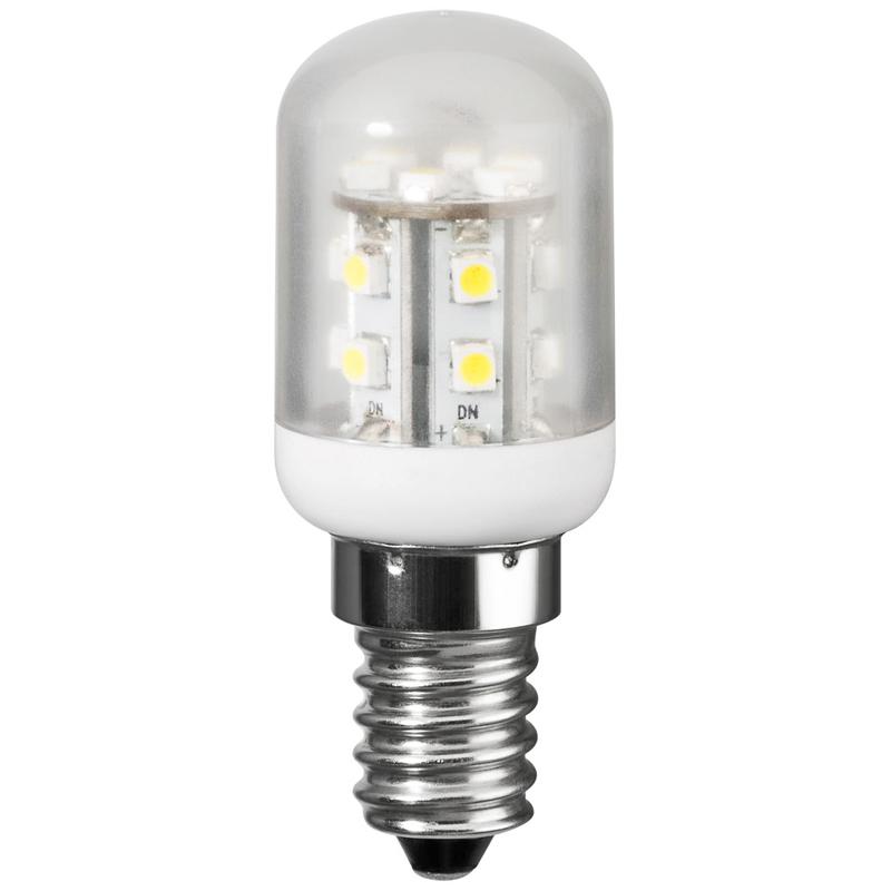 Bec cu LEDuri E14 1.2W 5500K alb rece frigider lampa Goobay