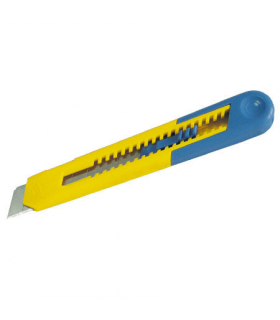 Cutter plastic 18mm cu blocator in trepte