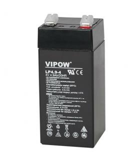 Acumulator gel plumb 4V 4.9A Vipow 43x43x100mm