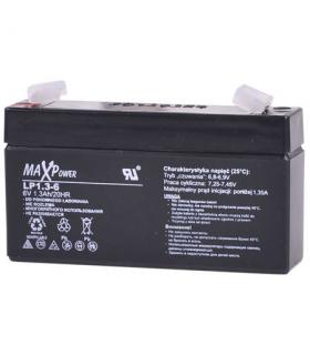 Acumulator plumb acid 6V 1.3A MaxPower Vipow 96x24x51mm