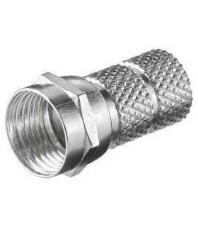 Mufa F 6.5mm lungime 20mm 1 inel Goobay