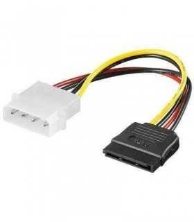 Cablu adaptor sata la molex 5.25 4 pini Goobay