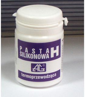 Pasta siliconica H 100gr termoconductoare -50°C +200°C 0.88W/m.K. 100gr AG TermoPasty