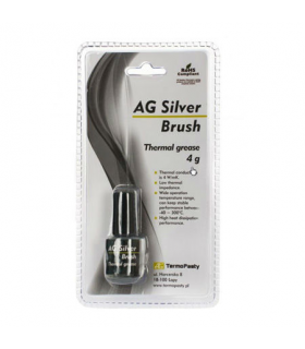 Pasta termoconductoare AG Silver Brush 4 W/m.K 4gr AG TermoPasty