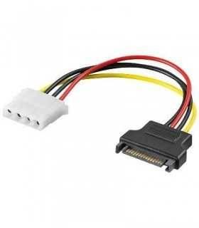 Cablu adaptor alimentare sata la 5.25 molex Goobay
