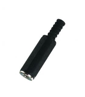 Mufa Jack 3.5mm mama stereo din plastic