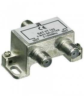 Spliter coaxial catv 2 iesiri 5-100Mhz Goobay