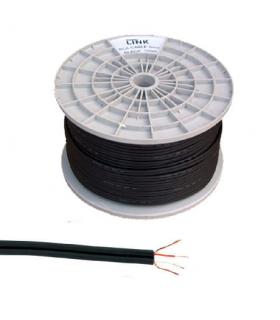 Cablu 2x RCA 4mm negru 100m