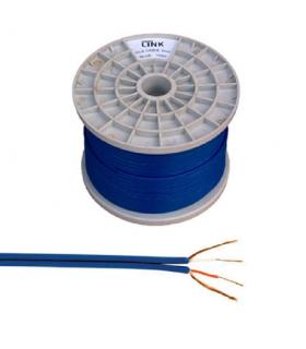 Cablu 2x RCA 4mm albastru 100m