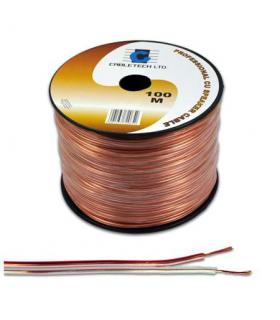 Cablu difuzor 2x2.5mm cupru transparent Cabletech