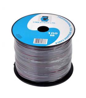 Cablu difuzor CCA 2x0.50mm negru Cabletech