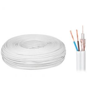 Cablu coaxial 75 cupru/cupru si 2x0.5mm pentru alimentare