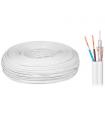 Cablu coaxial 75 cupru/cupru si 2x0.5mm pentru alimentare Elektrokabel