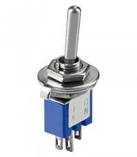 Comutator ON-ON 3 pini 8x5x7mm Goobay