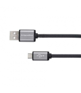 Cablu USB la micro USB 0.2m Profesional Kruger&Matz