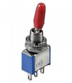 Comutator ON-ON 3 pini 12x6.5x9.5mm Goobay