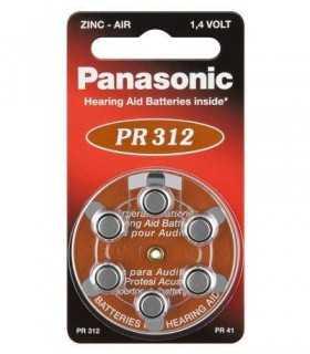 Baterii aparate auditive V312 Panasonic