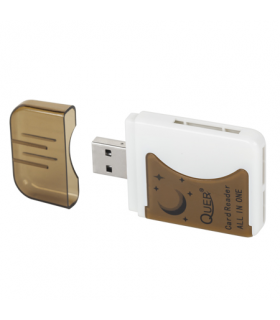 Mini card reader all-in-One Quer
