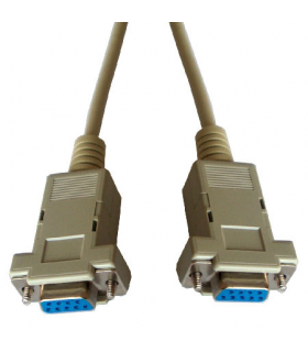 Cablu date serial RS232 DB9 mama-mama 5m Cabletech