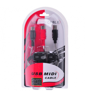 Cablu convertor Usb midi in-out Cabletech