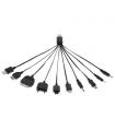Cablu adaptor USB universal 10 tipuri Cabletech