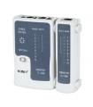 Tester cablu UTP RJ45 8p8c si telefon RJ11 4p4c Kemot