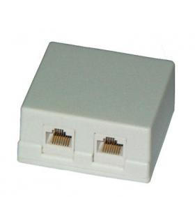 Priza dubla tip UTP CAT6 RJ45 8p8c